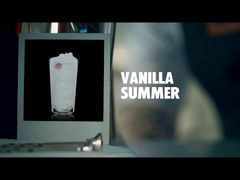 How to mix a Vanilla Summer Cocktail | Absolut Drinks