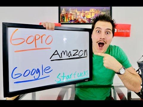 Gopro, Amazon, Google, Starbucks Earnings Insanity!