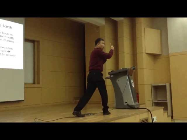 2013 KYUNG HEE UNIVERSITY TAEKWONDO COACHING COURSE [Some Highlights of 1st Week]