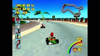 Woody Woodpecker Racing - HD Remastered Showroom - PSone