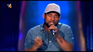 Mitchell Brunings Bob Marley - Redemption Song The Voice Holanda