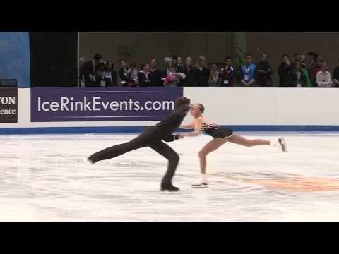 2014 prudential u s figure skating championships novice pairs fs 12   Lindsay Weinstein Jacob Simon