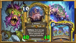 Hearthstone: Quest Shudderwock C'Thun Shaman | This Is Better Than Ever | Saviors of Uldum New Wild