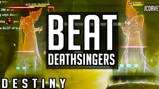 Destiny Beat Oryx Daughters | The Kings Fall Raids Deathsingers BOSS