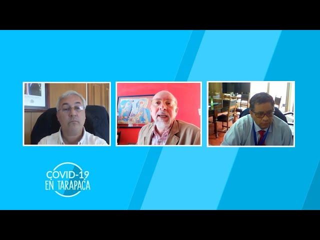 COVID-19_10 INTENDENTE REGIONAL Y SEREMI DE SALUD DE TARAPACÁ (26.09.2020)