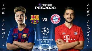 Pes 2020 friendly match - the palma 2 (fc barcelona) vs alex alguacil bayern munchen)