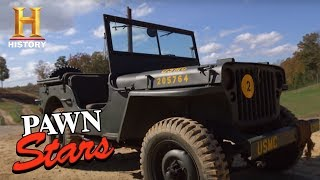 Pawn Stars: 1944 Willys WWII Jeep | History
