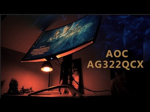 AOC AG322QCX Review - 32 Inch 1440p 144Hz Gaming Monitor with Freesync and  a VA Panel