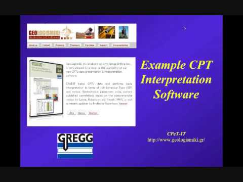 Webinar #1: Introduction To Cone Penetration Testing (CPT) By P.K. Robertson Sept 28, 2012