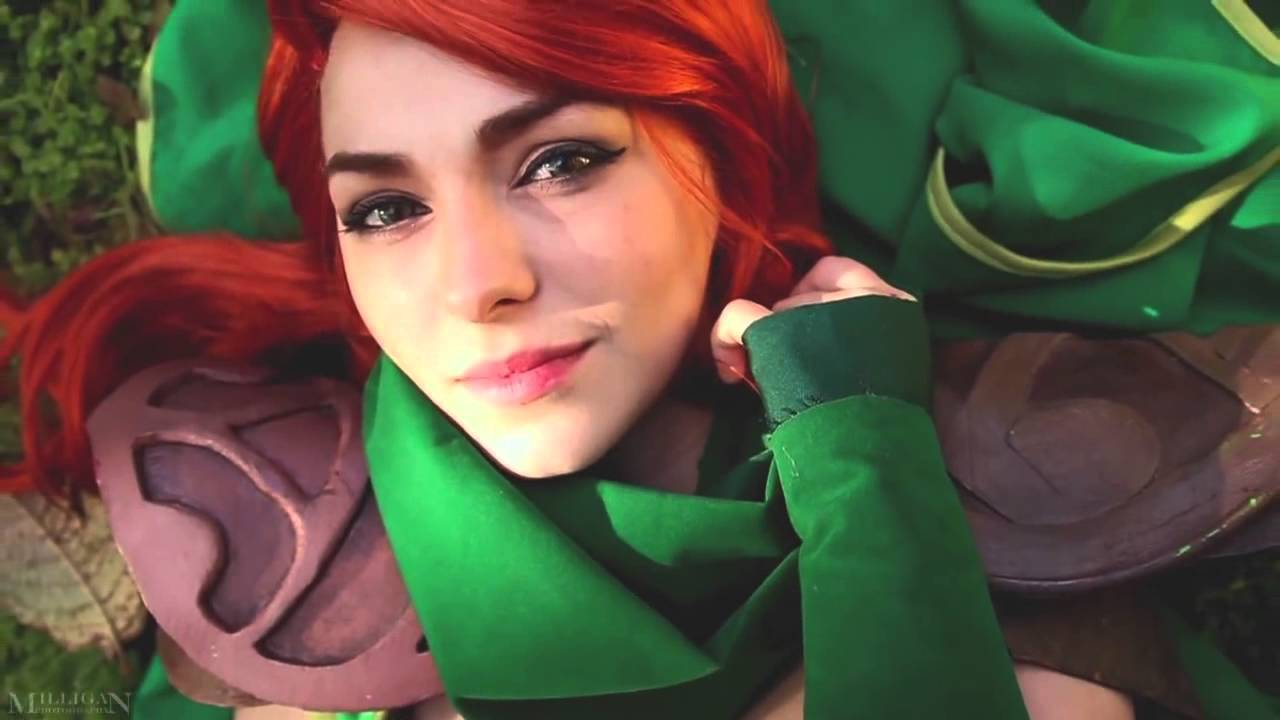 a day with windranger dota 2 cosplay youtube