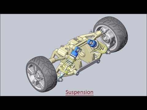 Suspension (Assembly Volume-1) Solid Edge Tutorial