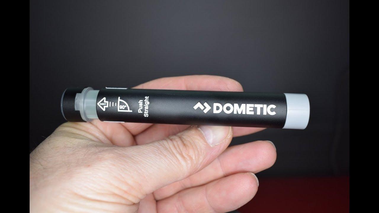 dometic gas checker gc100 f llstandsanzeiger f r gasflaschen youtube. Black Bedroom Furniture Sets. Home Design Ideas
