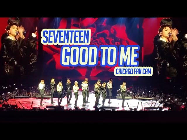 SEVENTEEN - GOOD TO ME - Chicago Jan 12 2020 Fan Cam
