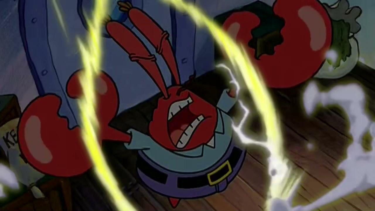 Mr. Krabs Going Super Saiyan for 10 Hours