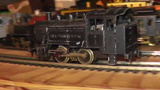 ho nyc 0-4-0t runs on track new york central switcher mantua metal diecast old
