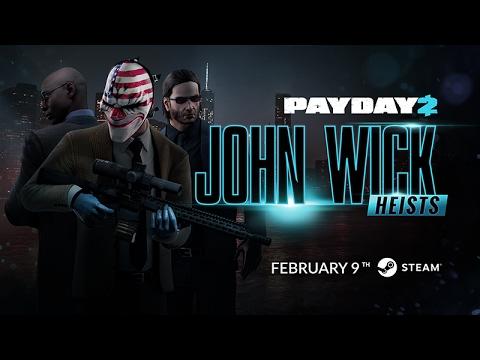 PAYDAY 2: John Wick Heists Trailer