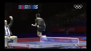 张继科 伦敦奥运男单决赛精彩回顾 ZHANG JIKE London 2012 Olympics Final Match Review