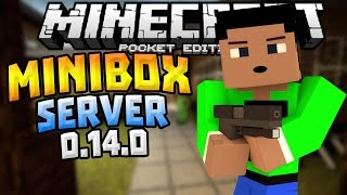 mcpe 0 14 0 server minigames herofreak gungame more minecraft pe pocket edition