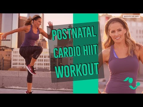 30 Minute Postnatal Cardio HIIT 2 Workout for After Pregnancy