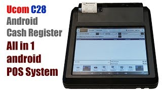 Ucom c28 android cash register