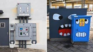 Zeki Sokak Sanatçısı Sıradan Şeyleri Tekrar Tasarlarsa