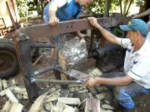 Maquina corta le a doovi for Maquina de astillar lena