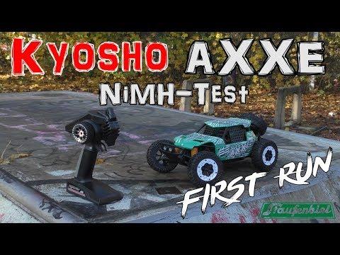 Kyosho AXXE NiMH-Test / First Run | HD+ | Deutsch