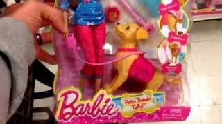"Barbie ""potty Training Taffy"" Doll & Puppy Dog Toy Set / Toy Review"