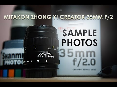 MITAKON ZHONG YI CREATOR 35MM F/2 MANUAL LENS - SAMPLE PHOTOS