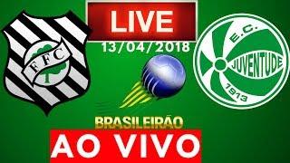 Figueirense x Juventude | AO VIVO | Campeonato Brasileiro 13/04/2018 NARRAÇÃO