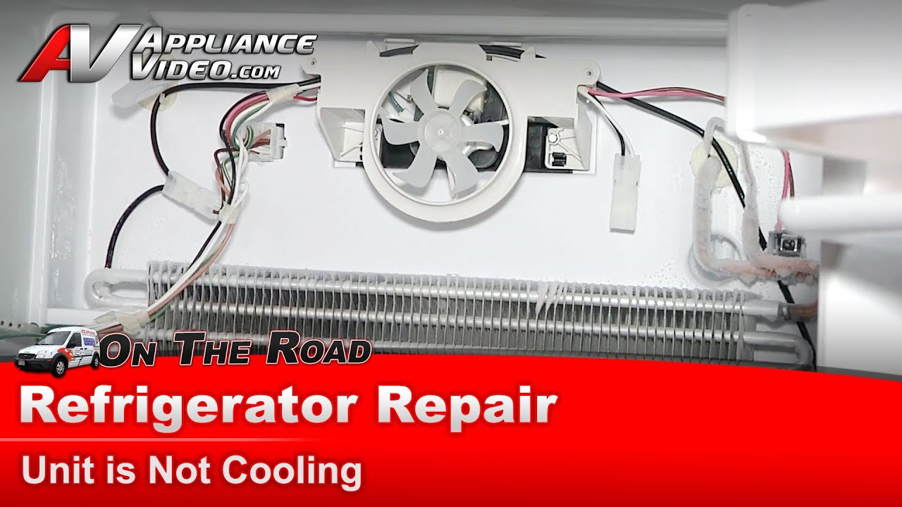 Refrigerator Repair & Diagnostic  Not Cooling  Amana