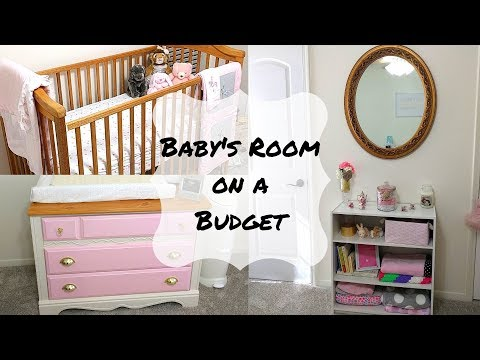 Baby's Room on a Budget | How to decorate a nursery for under $200!