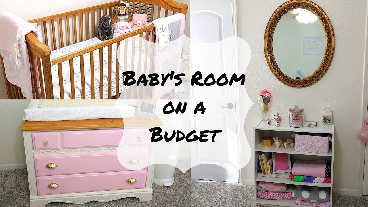 Baby S Room On A Budget How To Decorate Nursery For Under 200