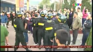 Video thông tin chính thức vụ dừng tàu chở khách tuyến Đồng Đăng - Hà Nội nghi chở nhiều hàng lậu.