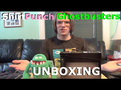 ShirtPunch Ghostbusters Bundle UNBOXING!