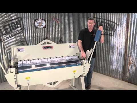 Baileigh Industrial BB-4812 Heavy Duty Box and Pan Sheet Metal Brake Metal bending machine