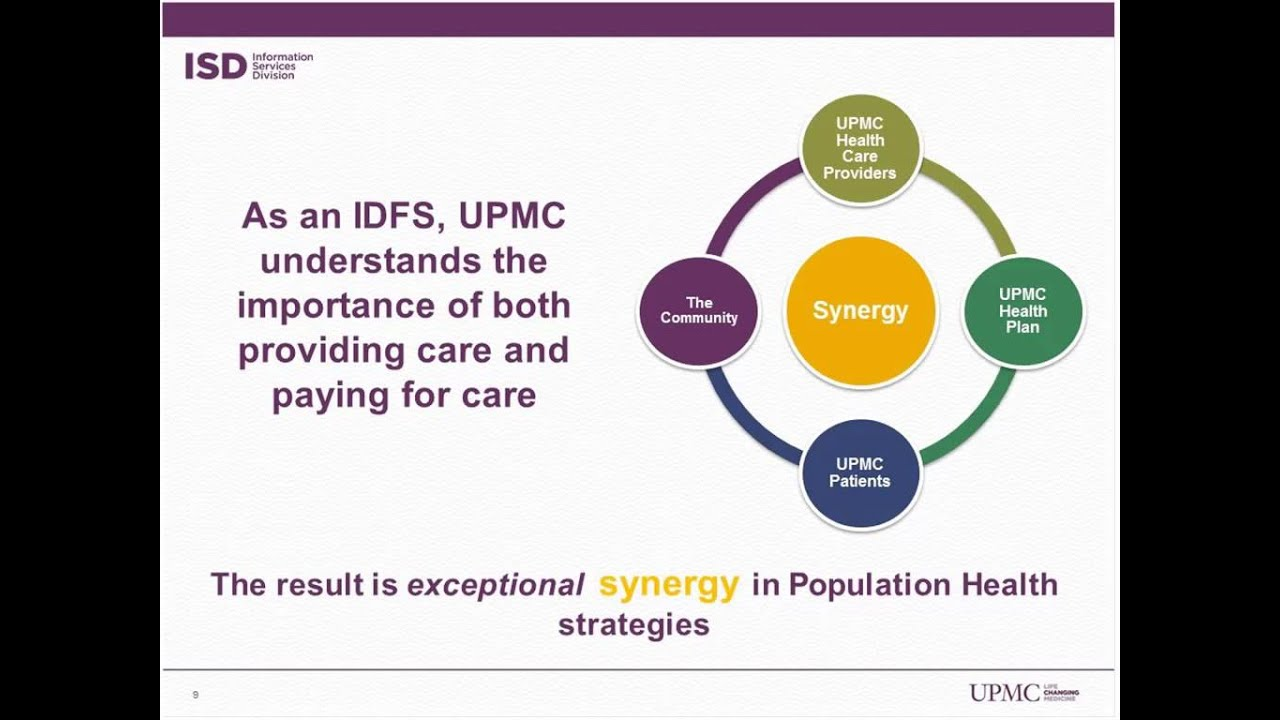 Population Health: Connecting the Dots — Ed McCallister, SVP/CIO, UPMC  (Sponsored by HealthGrid)