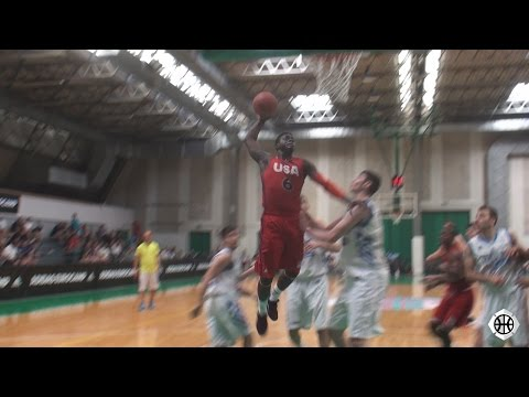 Rawle Alkins, Kevin Harley & Guerschon Yabusele Highlight Top 5 Plays - adidas EUROCAMP 2015 Day 3!