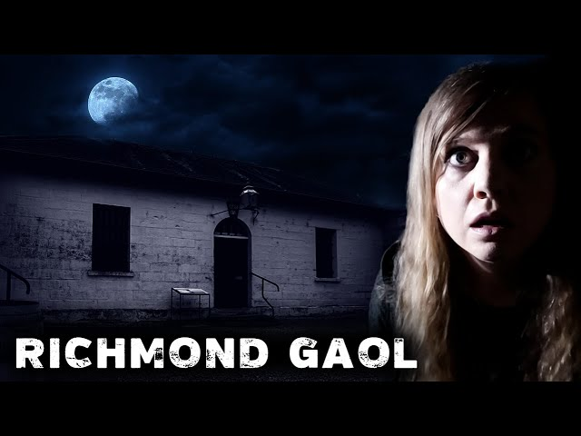SCARIEST NIGHT Ever in Oldest HAUNTED Prison in Australia | Richmond Gaol
