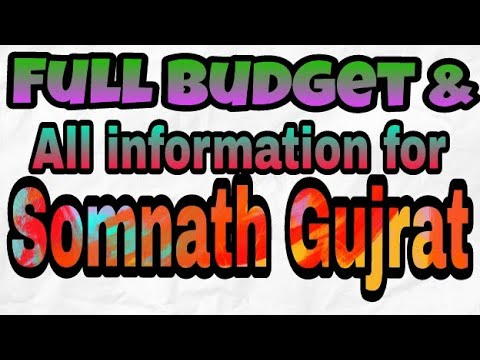 Full Budget & All Information For Somnath Temple Gujarat||Nearby Temples||Hotels & Accommodation||