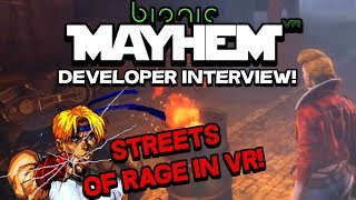 Bionic Mayhem PSVR Developer Interview