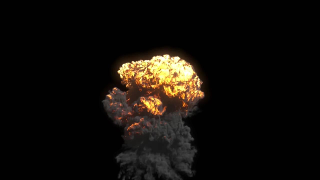 3ds max, FumeFX 4, Cascade Explosion, Download file, Скачать урок