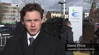 Public talks Carillion collapse
