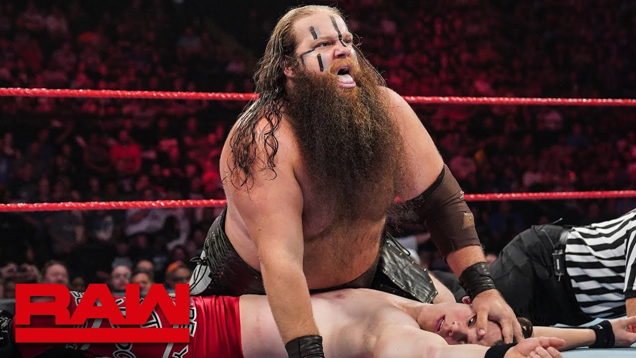 The Viking Raiders vs. Vinny Gruner & Jackson James: Raw, July 15, 2019