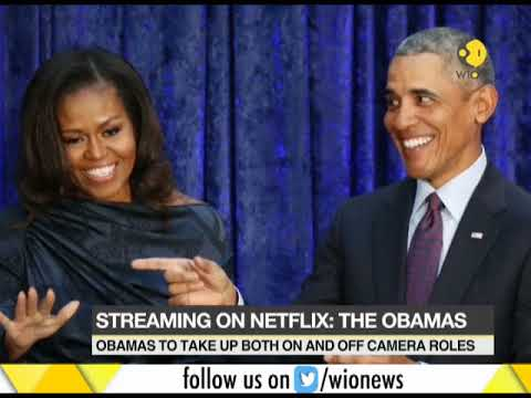 Streaming Soon: The Obamas sign production deal with Netflix