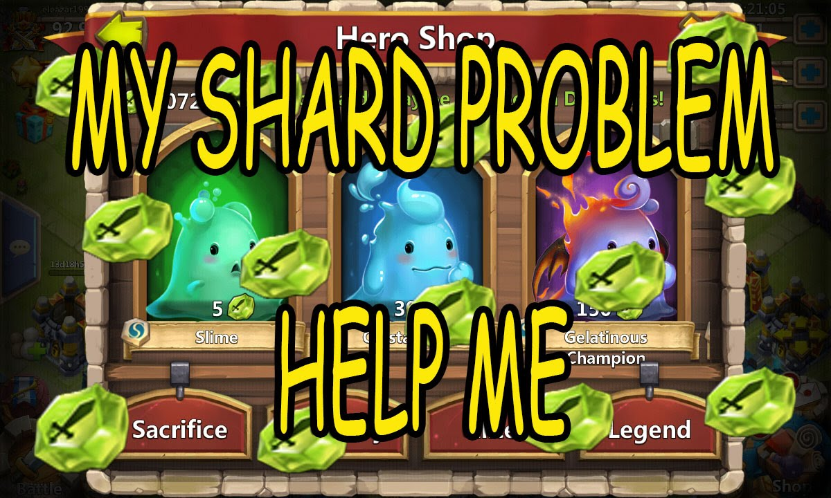 how to get soul shards castle clash