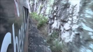 El Tren Chepe, e/ Bahuichivo y Témoris, México 01/Jan/2014 #2 メキシコ鉄道、バウイチボ駅からテモリス駅へ