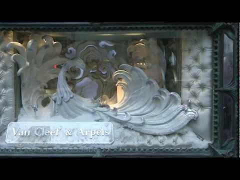 Создание витрины Van Cleef _ Arpels New York boutique 2012 Holiday .mp4