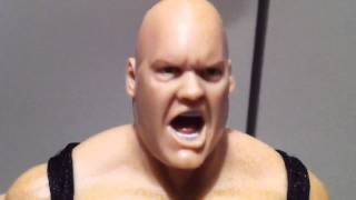 "WWE ACTION INSIDER: King Kong Bundy Mattel Legends figure review ""grims toy show"""