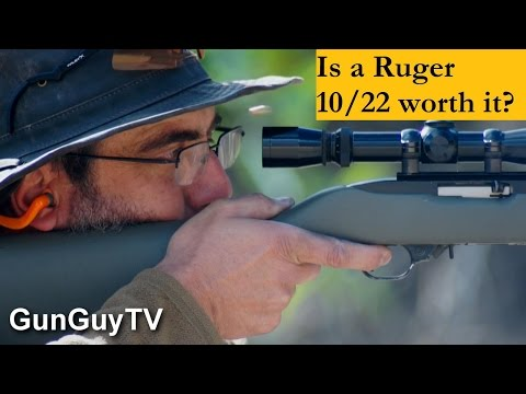 is a Ruger 10/22 worth it?  Is it even a good rifle?
